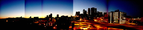 chelsey1016:  averilemery:  MINNEAPOLIS SUNRISE photo ©2012 April Emery Cornish  Love you, Minneapolis!  i don't exactly love you, minneapolis, but you look hot in this pic.