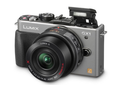 The Panasonic Lumix DMC-GX1 is an enthusiast-oriented model that bears more than a passing resemblance to the Lumix DMC-GF1. It sports a 16MP 'Live MOS' sensor, a maximum ISO sensitivity setting of 12,800, a touchscreen interface and a revamped AF system. With all the cool specs, did it live up to all the excitement? Check out our in-depth review to find out http://www.dpreview.com/reviews/panasonicdmcgx1/