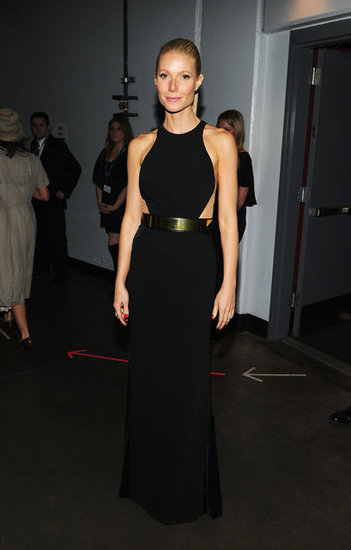 She looked amazing……Gwyneth Paltrow in Stella McCartney at the 2012 Grammys