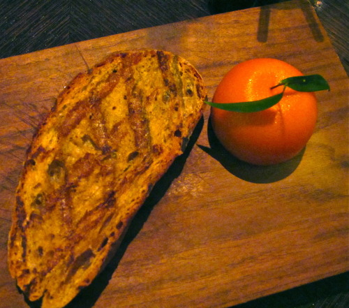 'meat fruit' @ dinner by heston blumenthal, london
