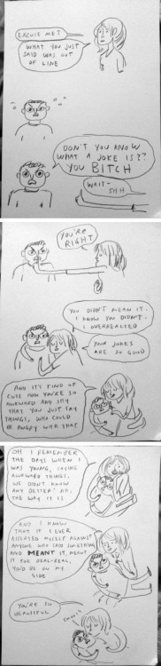 emmyc:  missmonstermel:  Hahaha! shoomlah:  beatonna:  living life fast and furious on the internet  Well this is just perfect   KATE. the visual of you cradling an internet jerk like he is a gradually shrinking baby is one the best things mine eyes have seen.