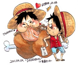#0 {OPfans4ever's My Inspiration: Monkey D. Luffy Project}  >w< cute~