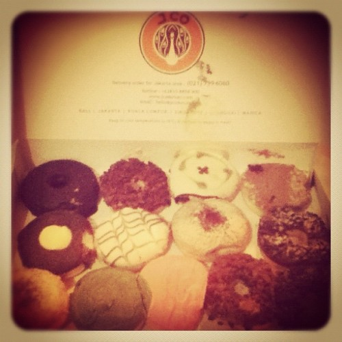 #breakfast #jco #myfav #instagram #instadaily #iphoneography #iphonesia  (Taken with instagram)