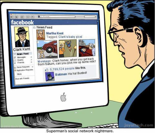 Why #Superhero's just wouldn't survive with Social Media today… #Superman ~ http://t.co/UNqPmk0o