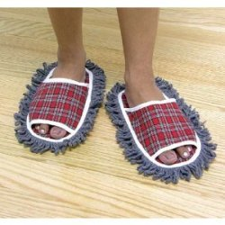 Attention lazies! You can now clean the floor while you walk These are on Amazon for 9 bucks
