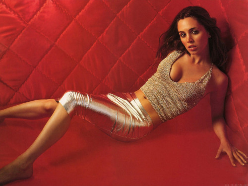 Eliza Dushku  (sometimes i wish dollhouse was real… not because i'm a horrible person but because i would pay to get echo!)