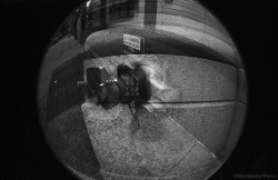 Wet Standpipe Double Exposure Fish Eye 35mm Junior Workshop Alternative Camera Project