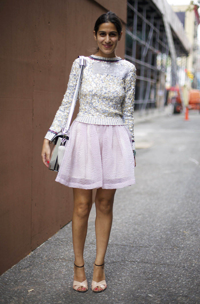 Sequined Sweater (image: streetpeeper)