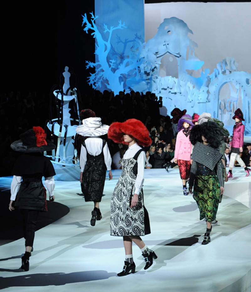 Marc Jacobs Fall 2012 Photo credit: Imaxtree