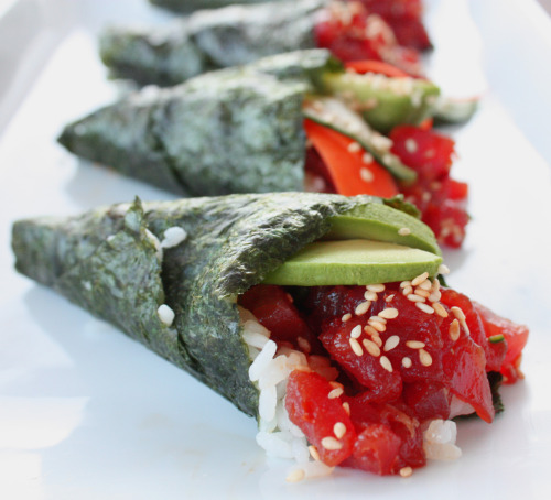 Can you sushi blast me now? SushiLoversForever:  Hand Roll