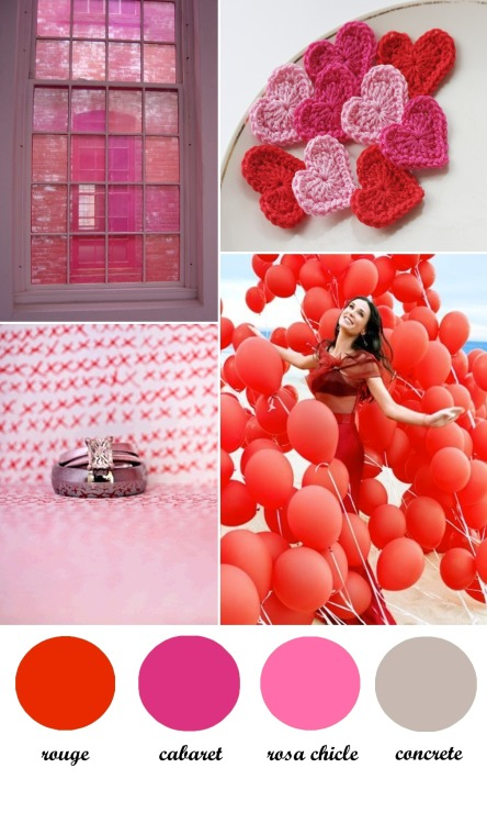 (vía Colour Board 24. Valentine |)