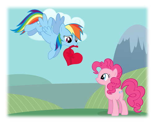 Happy Valentine's Day! You're all my very special somepony!