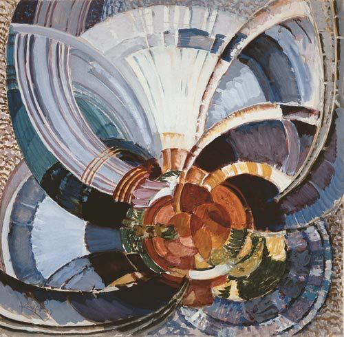 Kupka Study for Around a Point