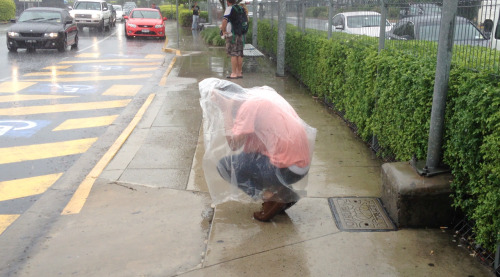 Tic wearing a plastic bag in the rain heralds another installment of our FBi Radio Takeover. Includes mixes from Bullion and El Guincho, and astonishing live performances from Sampha and Willis Earl Beal.