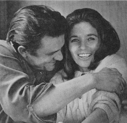 "newspeedwayboogie:  ""This morning, with her, having coffee."" -Johnny Cash, when asked for his definition of paradise."