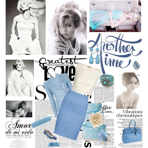 Another time by ms-aja-james featuring turquoise jewelry