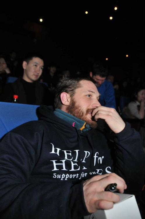 rognedademon:  Tom Hardy in Yakutsk. Part 3