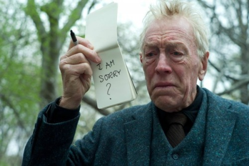 bbook:  Max von Sydow has been making movies since 1949, with everyone from Ingmar Bergman to Woody Allen. Now, at 82, he could be about to win his first Oscar. Max von Sydow: god of gravitas