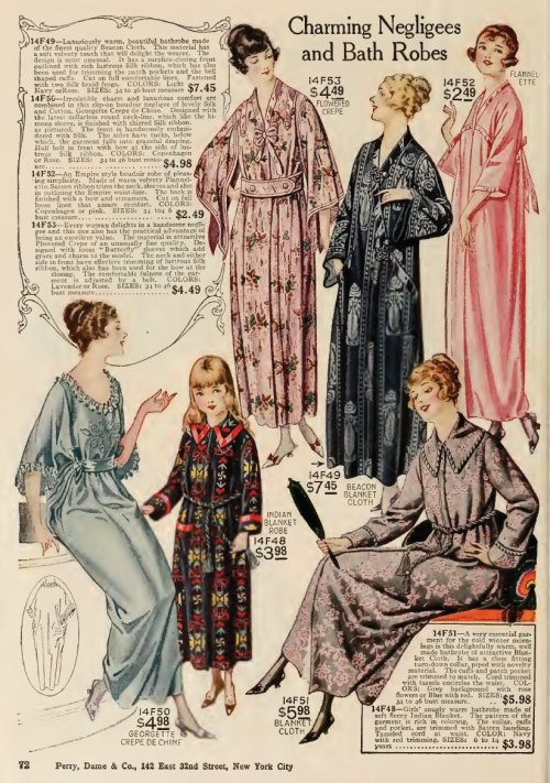 ~ Perry, Dame & Co., Fall and Winter  1919-1920(click to enlarge)