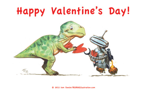 my son's valentine's day card.  via BLARG.