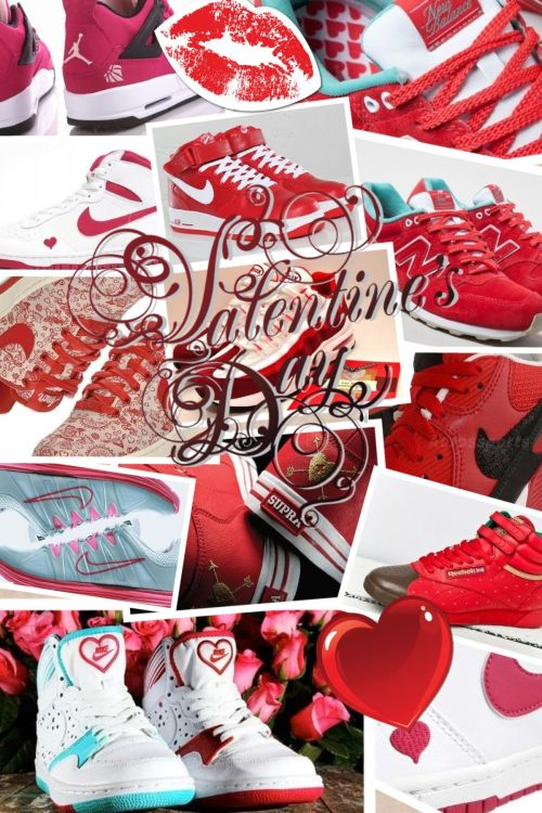 VALENTINES DAY KICKS!CLICK HERE OR BELOW TO READ THE FULL POST!  http://bigeyeslittlesoles.com/2012/02/14/valentines-kicks/  REBLOG & SHARE THE <3
