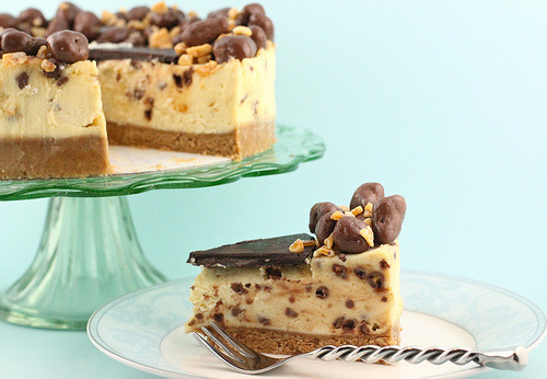 Honeycomb cheesecake.