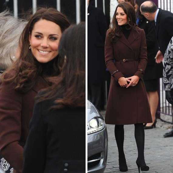 Kate out supporting Action on Addiction