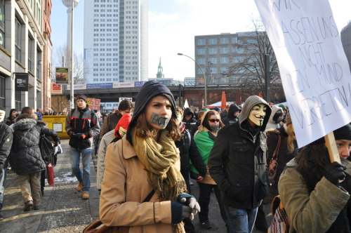 Anti-ACTA demo in Berlin