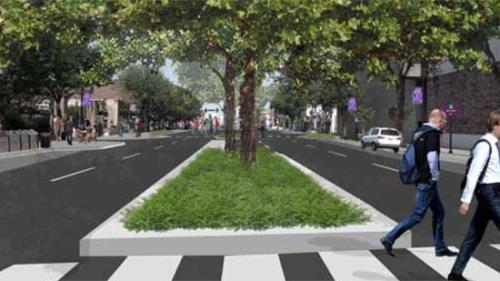 Wichita City Council endorses concepts for reshaping Douglas Avenue  Just imagine how great this would be in the summer time! I love the idea of people walking Douglas like they used to. All we need are a few outdoor cafes and we'll come closer to that big city feel.
