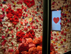 Marc by Marc Jacobs Valentine's Day window