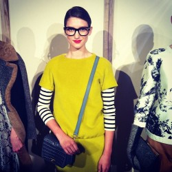 teenvogue:  Jenna Lyons doppelgänger at J Crew! Photographed by Jane Keltner de Valle