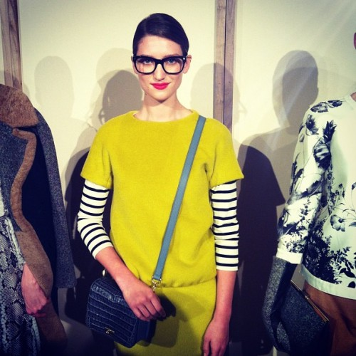 Jenna Lyons doppelgänger at J Crew! Photographed by Jane Keltner de Valle