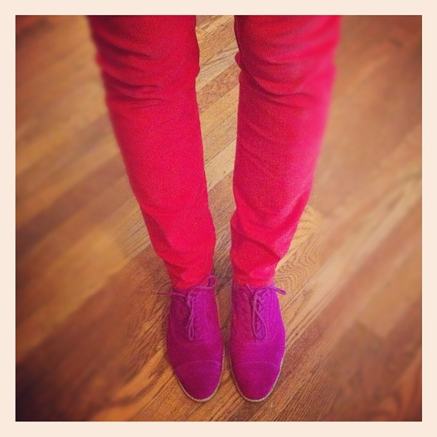 happy vday! channeling @fashionifancy @natalieseufferlein  (Taken with instagram)