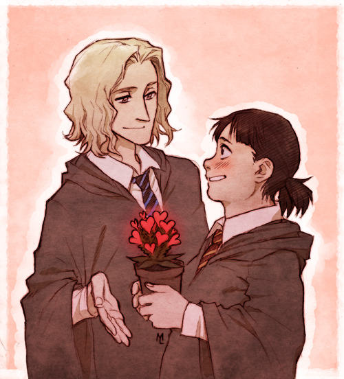 Happy Valentine's! I was long under the impression that Luna x Neville is canon but it's a cute ship nevertheless :3