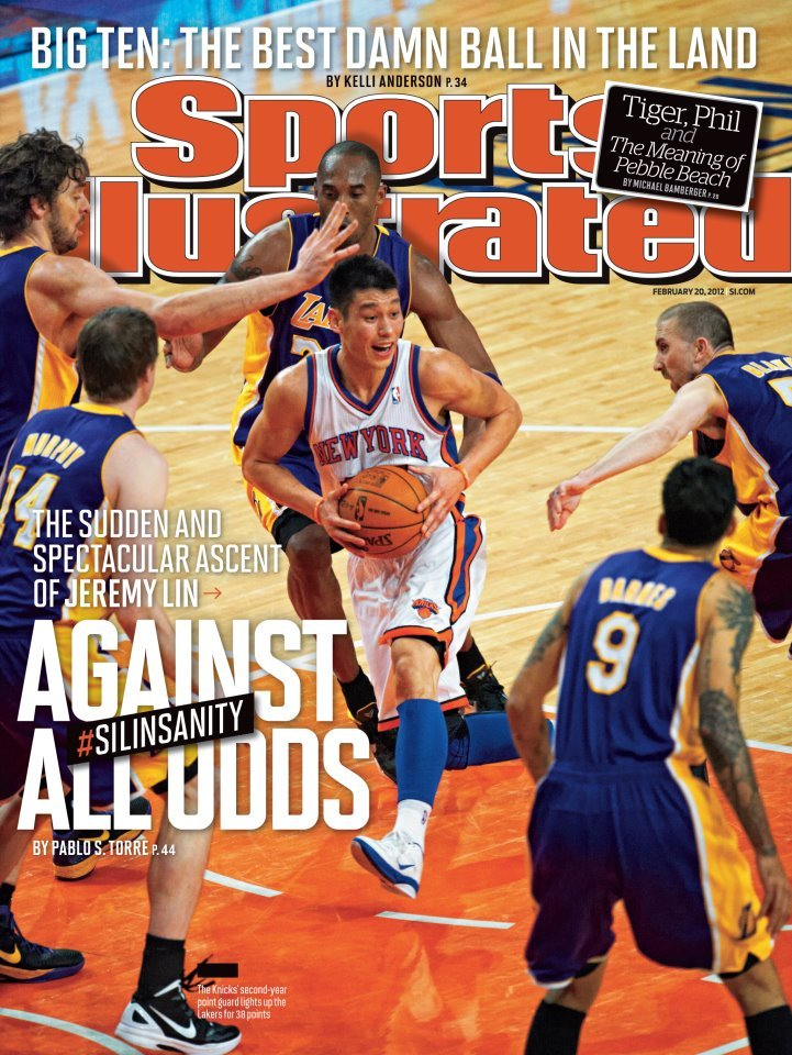 In Case You Missed It… Jeremy Lin is currently on the cover of Sports Illustrated.