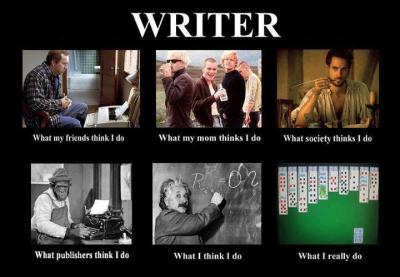 What does a writer do? via