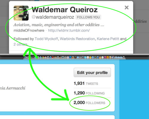 2000 #followers! Thanks @waldemarqueiroz who won a tshirt for being the 2000th #avgeek