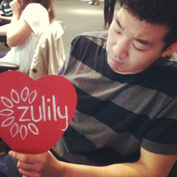 """thinking of zu"" #happyvalentines from #zulily! (Taken with Instagram at zulily HQ)"