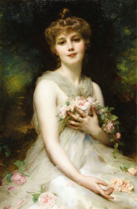 Jeune Femme by Adolphe