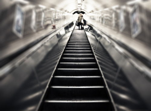 © http://www.salvodipino.it - All rights reserved. London - Escalator