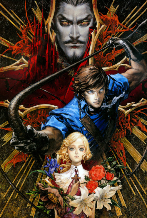 Art used on the Dracula X cover for PSP.