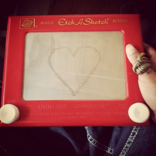 Today on etchasketch, a Valentine to all of you!