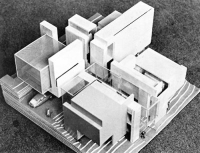 archimodels:  © peter eisenman - house 10 - 1976