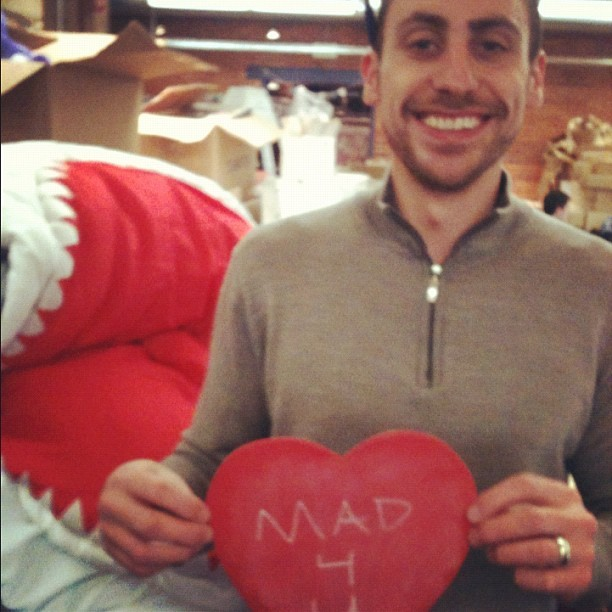 zulily is #madforu! #happyvalentinesday! (Taken with Instagram at zulily HQ)