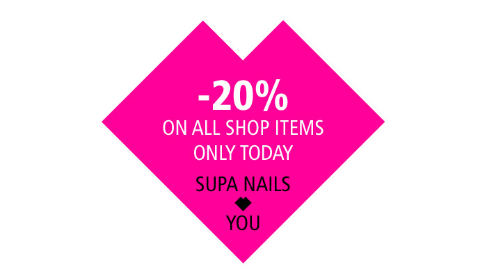 Valentine's Sale!Cause Supa Nails ♥ You