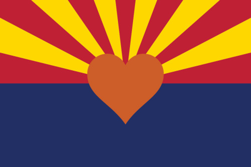 HAPPY 100th BIRTHDAY ARIZONA! I made a valentine for you :) Even though you act crazy in public sometimes, I still love you.