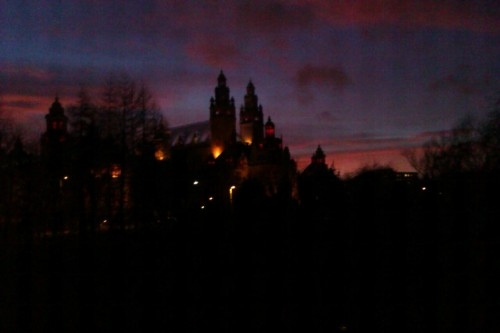 Kelvingrove lookin' creepier than usual!