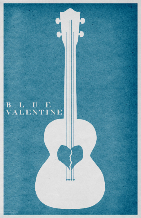Blue Valentine by Travis English (viafuckyeahmovieposters)