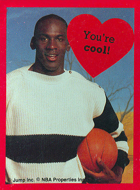 to all of my followers, happy valentines day from air jordan and I