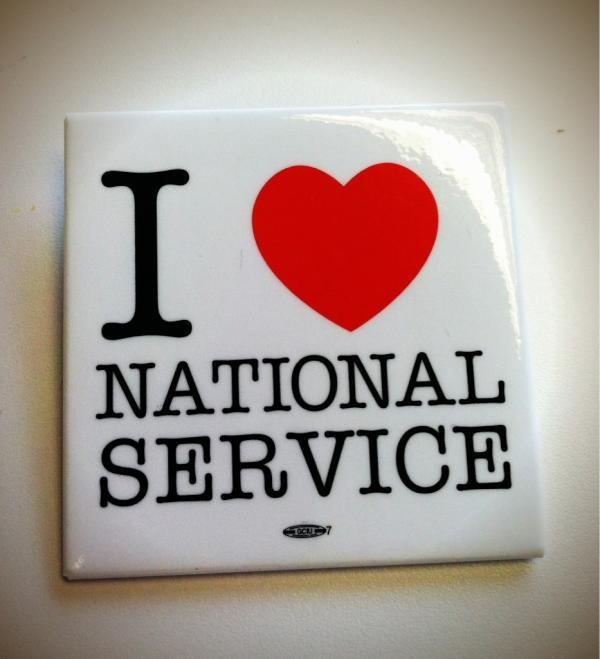 cityyear:  From our friends at Voices for National Service! Happy Valentine's Day!
